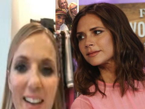 Spice Girls fans lose their minds as group FaceTime without Victoria Beckham