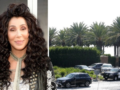 Cher's mansion 'raided by police as assistant's son is arrested for drug-related incident'