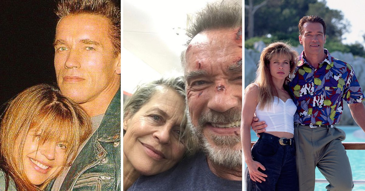 Arnold Schwarzenegger reunites with 'true badass' Terminator co-star Linda Hamilton