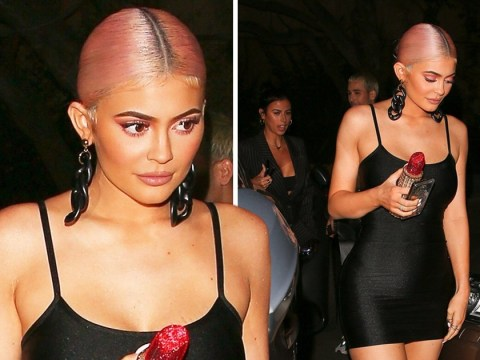 Kylie Jenner proves she's not self-absorbed as she parties in LBD