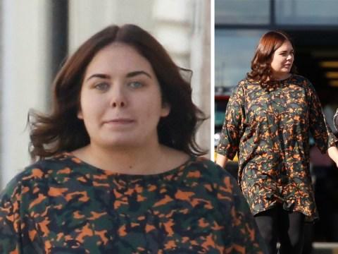 Scarlett Moffatt twins with mum Betty in bold camouflage on pamper day