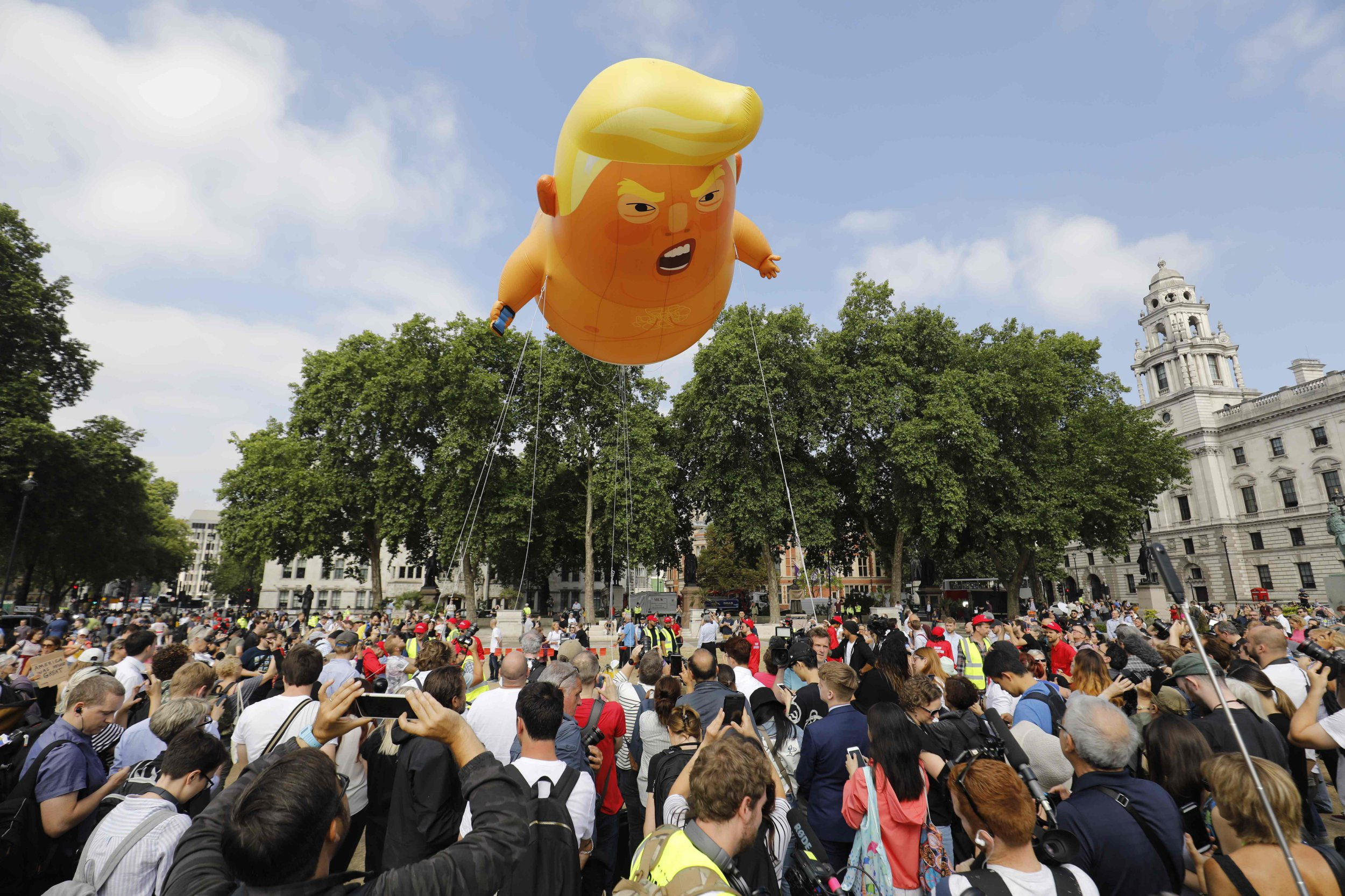 Trump baby 'will fly again' when the US president visits Ireland