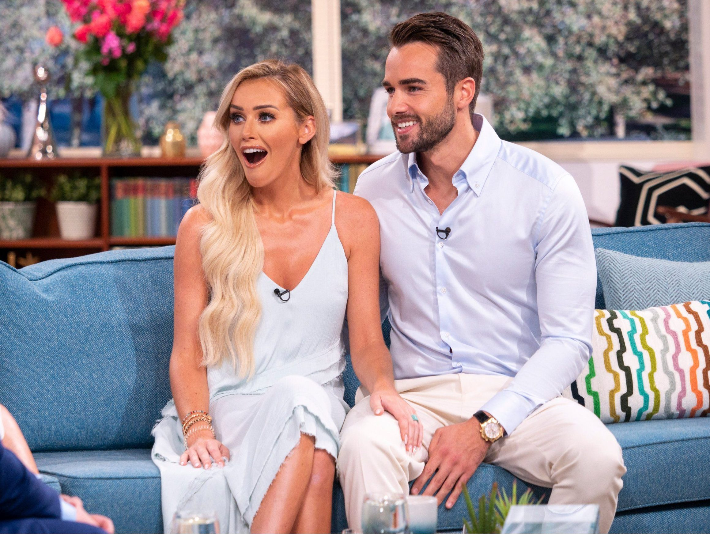 Love Island's Laura Anderson and Paul Knops are still yet to make relationship official
