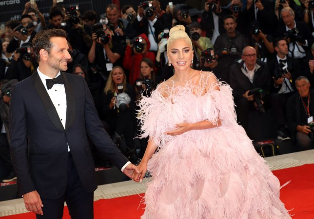 VENICE, ITALY - AUGUST 31: Bradley Cooper and Lady Gaga walk the red carpet ahead of the 'A Star Is Born' screening during the 75th Venice Film Festival at Sala Grande on August 31, 2018 in Venice, Italy. (Photo by Elisabetta A. Villa/WireImage)