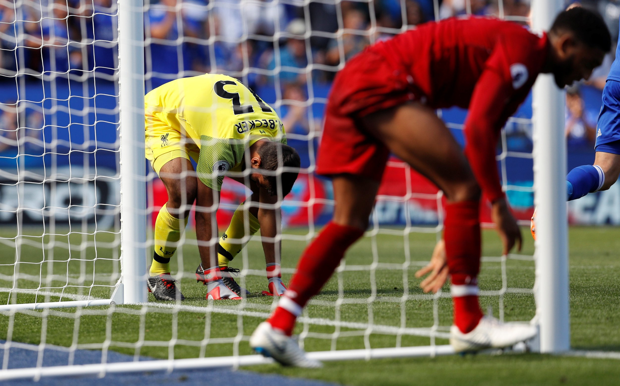 What Jurgen Klopp said about Liverpool goalkeeper Alisson Becker's showboating before Leicester blunder