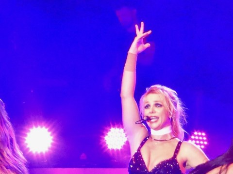 Oops, Britney Spears does it again and forgets exactly where she is during Blackpool concert
