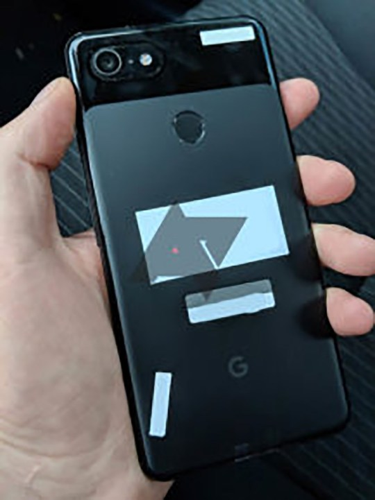 Google Pixel 3 XL revealed - because someone left it in the back of a cab