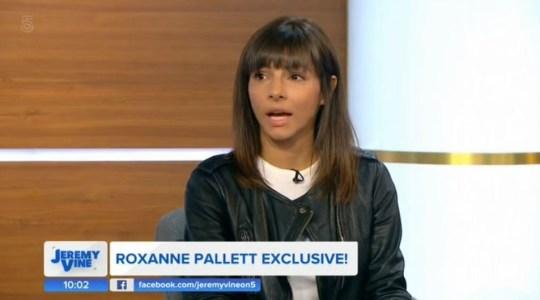 Roxanne Pallett on The jeremy Vine Show 03.09.2018