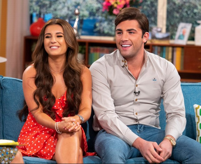EDITORIAL USE ONLY. NO MERCHANDISING Mandatory Credit: Photo by Ken McKay/ITV/REX (9848271p) Dani Dyer and Jack Fincham 'This Morning' TV show, London, UK - 03 Sep 2018 From day dot the nation became obsessed with Love Island winners Dani and Jack but after spending eight weeks following the ins and outs of their relationship all we want to know is WHAT ARE THEY DOING NOW?! At last, they join us for their first exclusive joint TV interview together and will be revealing how living together is going and will be addressing the rumours that they are apparently getting married next year.