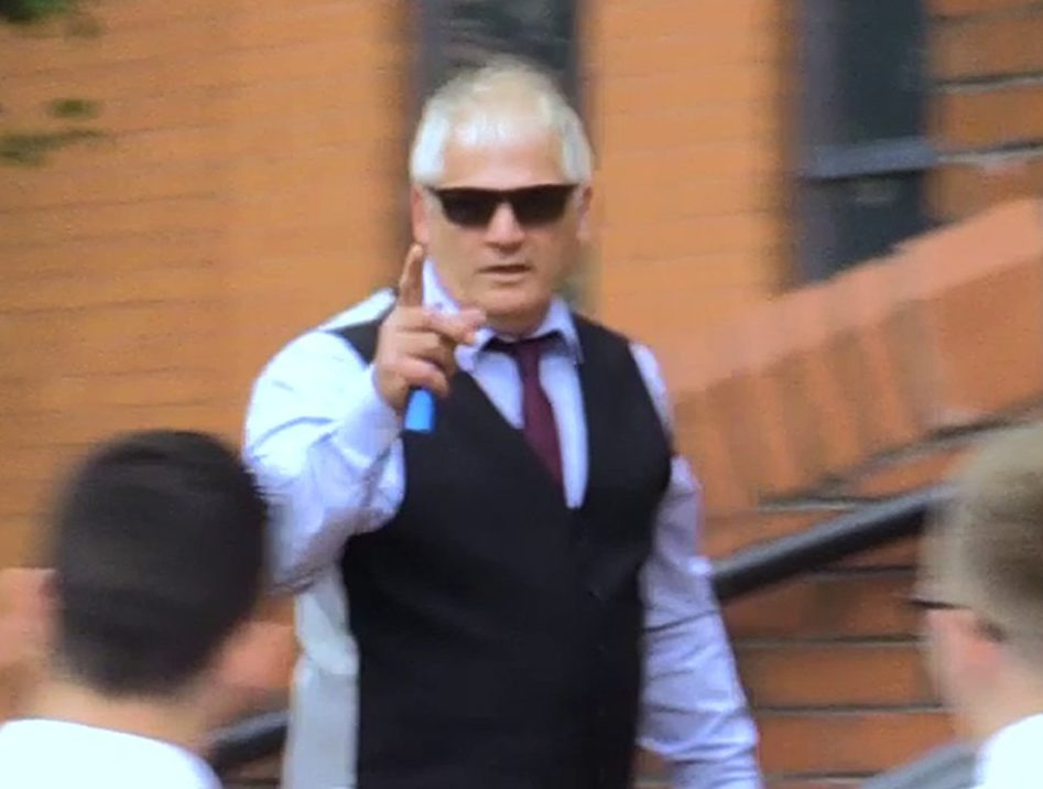 "Charity fundraiser Gary Gardner arriving at Leicester Crown Court who claimed he was raising money for the son of murdered fusilier Lee Rigby but spent profits on meals, hotels and a music single he knew would be a ""flop"", the court heard. PRESS ASSOCIATION Photo. Picture date: Monday September 3, 2018. Jurors heard how Gary Gardner raised at least ?24,000 from various events but only ?4,000 made its way to any charity because of his ""enthusiasm for promoting emerging music artists"". The 56-year-old denies three counts of fraud. See PA story COURTS Gardner. Photo credit should read: Phil Barnett/PA Wire"