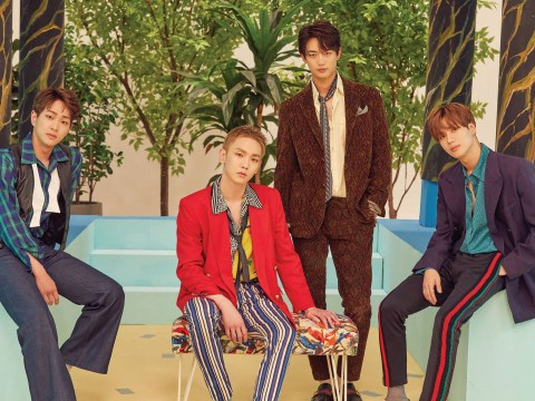 K-Pop band SHINee announce release of compilation album with brand new song