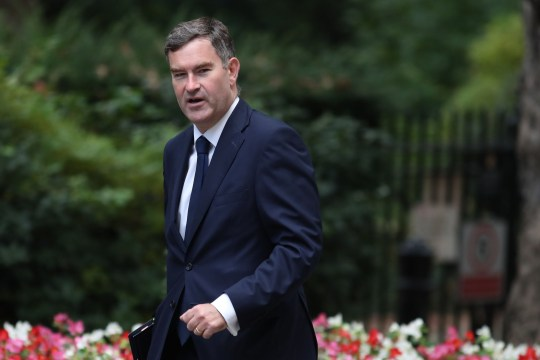 Britain's Justice Secretary and Lord Chancellor David Gauke arrives at 10 Downing Street in central London for the weekly cabinet meeting on September 4, 2018. (Photo by Daniel LEAL-OLIVAS / AFP)DANIEL LEAL-OLIVAS/AFP/Getty Images