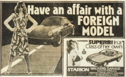 The ten most sexist car adverts of all time – prepare to