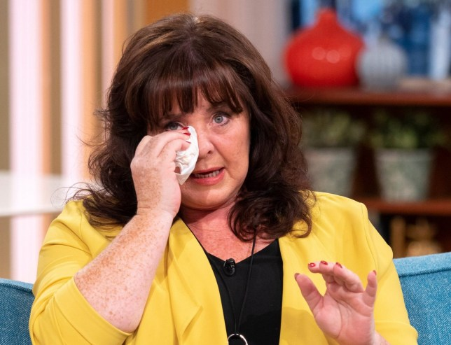 EDITORIAL USE ONLY. NO MERCHANDISING Mandatory Credit: Photo by Ken McKay/ITV/REX (9857982s) Coleen Nolan '<a href=