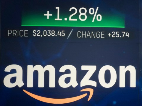 Amazon becomes the world's second trillion dollar company