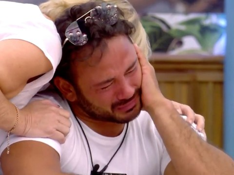 An emotional Ryan Thomas says shamed CBB star Roxanne Pallett has been 'punished enough' over false punch claims