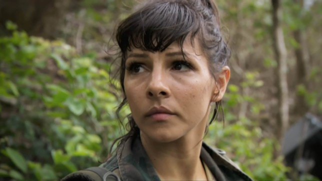 """5-9-2018 First Look at upcoming TV show """"Celebrity Island with Bear Grylls 2018"""" Pictured: Roxanne Pallett PLANET PHOTOS www.planetphotos.co.uk info@planetphotos.co.uk +44 (0)20 8883 1438"""