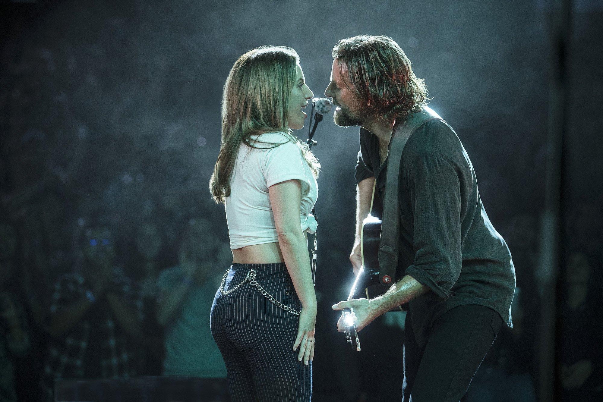 Credit: Warner Bros/Clay Enos Bradley Cooper Lady Gaga