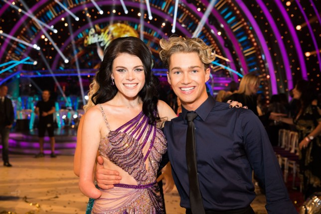 EMBARGOED TO 2100 SATURDAY SEPTEMBER 8 For use in UK, Ireland or Benelux countries only Undated BBC handout photo of Lauren Steadman and AJ Pritchard during the return of the BBC One show, Strictly Come Dancing. PRESS ASSOCIATION Photo. Issue date: Saturday September 8, 2018. See PA story SHOWBIZ Strictly. Photo credit should read: BBC/PA Wire NOTE TO EDITORS: Not for use more than 21 days after issue. You may use this picture without charge only for the purpose of publicising or reporting on current BBC programming, personnel or other BBC output or activity within 21 days of issue. Any use after that time MUST be cleared through BBC Picture Publicity. Please credit the image to the BBC and any named photographer or independent programme maker, as described in the caption.