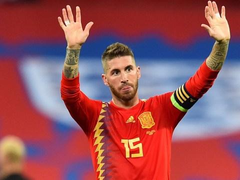 Sergio Ramos hits back at England fans who booed him at Wembley