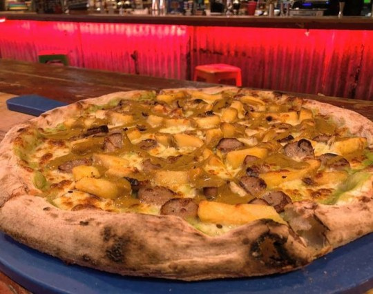 'When your mam asks if you want a chippy tea...' SEPTEMBER PIZZA SPECIAL IS HERE CHIPPY TEA: Sausages, Chips, Mushy Peas, Curry Sauce