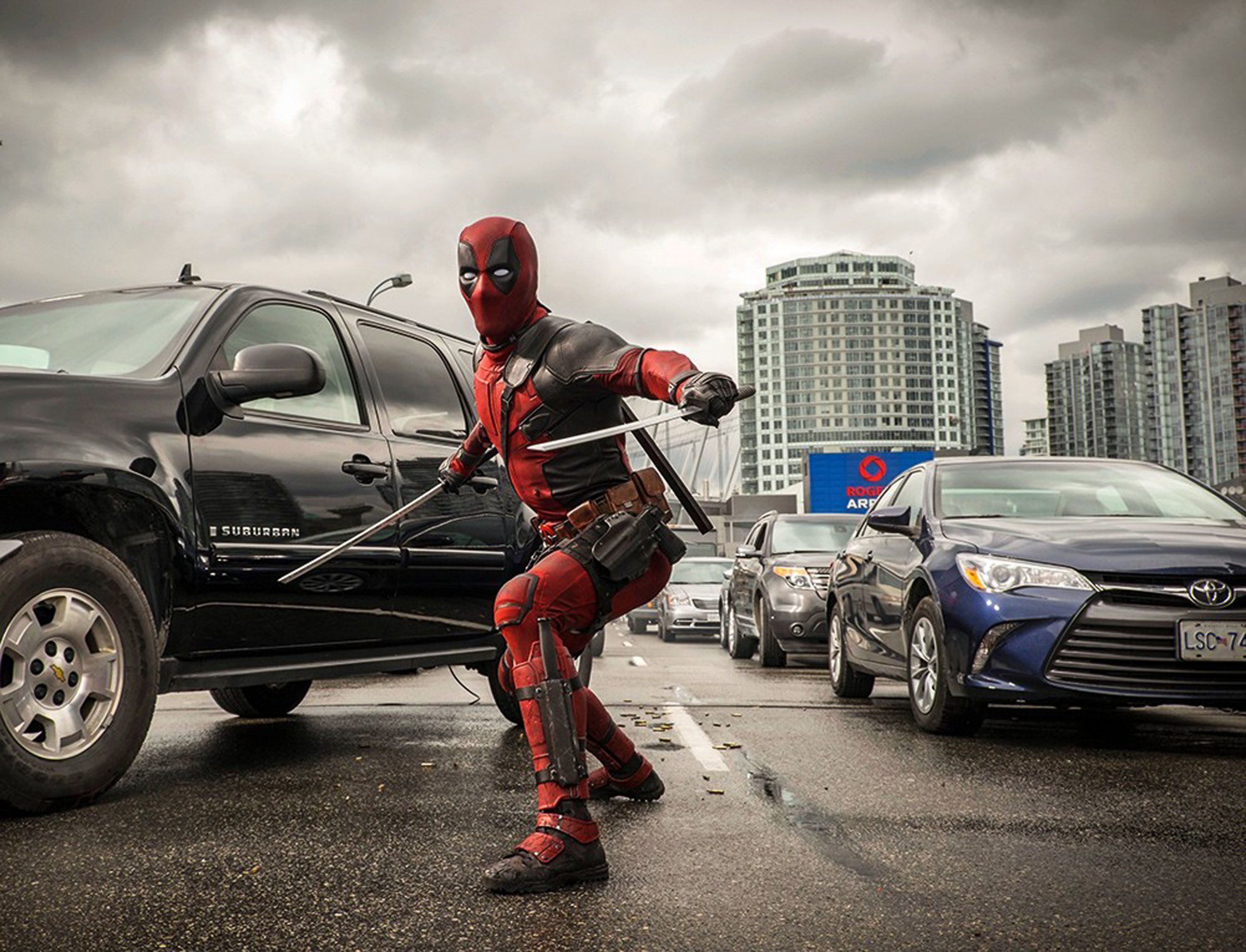 No Merchandising. Editorial Use Only. No Book Cover Usage Mandatory Credit: Photo by Moviestore/REX/Shutterstock (5140784l) 'Deadpool' film - Ryan Reynolds 'Deadpool' film - 2016