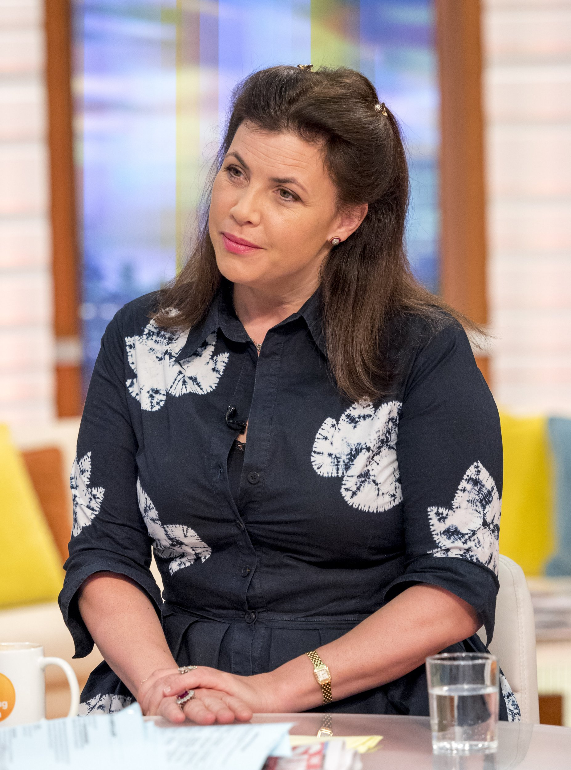 EDITORIAL USE ONLY. NO MERCHANDISING Mandatory Credit: Photo by Ken McKay/ITV/REX/Shutterstock (9331954c) Kirstie Allsopp 'Good Morning Britain' TV show, London, UK - 23 Jan 2018 After being told to tone down the 'darlings' by politically correct TV bosses, Kirstie Allsop is back on the box with Phil in a new series of Love It or List It.