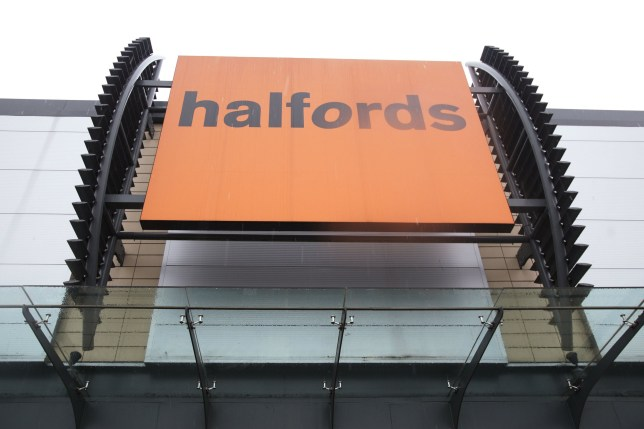 """Embargoed to 0001 Wednesday November 13 File photo dated 14/01/13 of an exterior view of a Halfords store in north London as Halfords has been told to remove """"misleading"""" pricing from its website after overstating savings on certain products."""