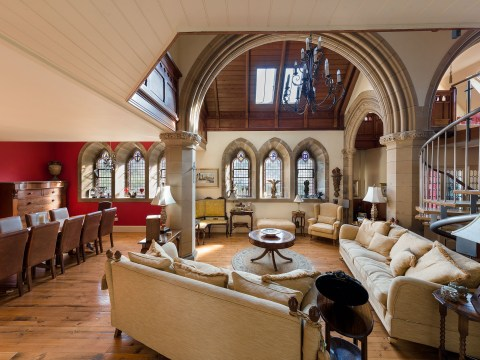 Stunning Victorian church converted into family home is on the market for £650,000