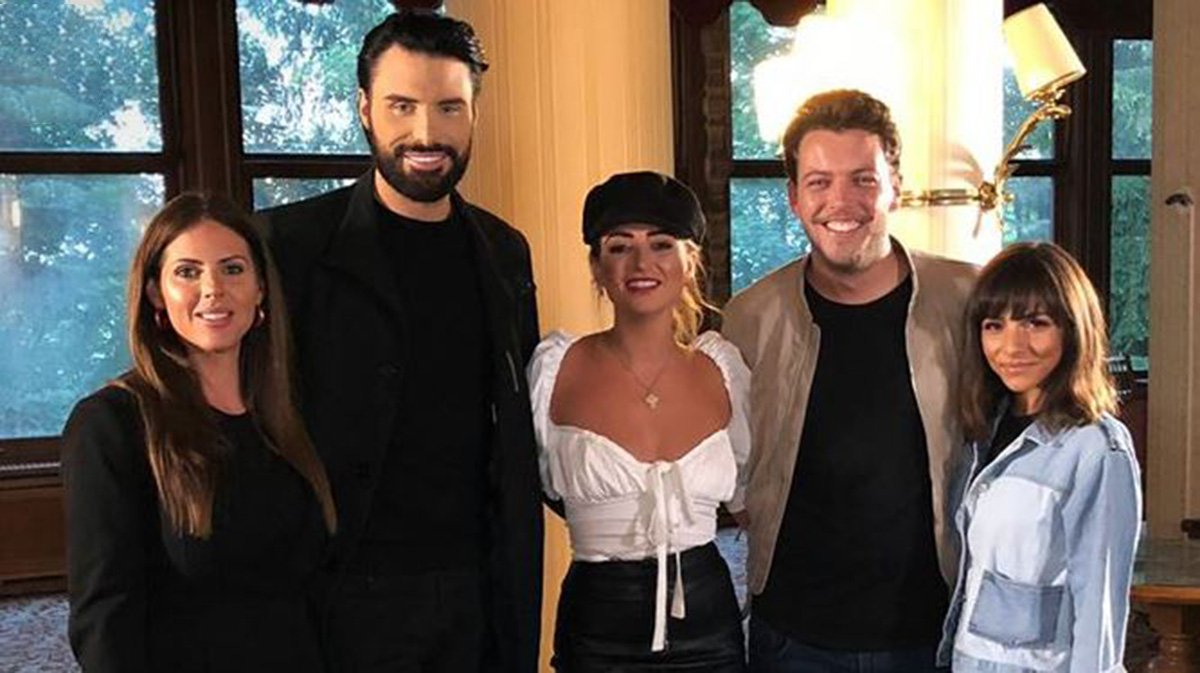 Roxanne Pallett to reunite with Rylan Clark on Celebrity Ghost Hunt tonight Channel 5