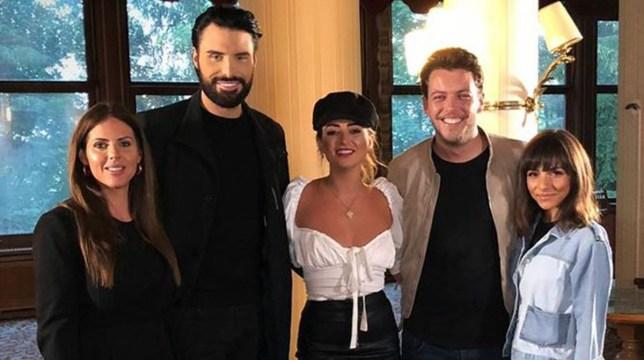Roxanne Pallett to reunite with Rylan Clark on Celebrity Ghost Hunt tonight Channel 5