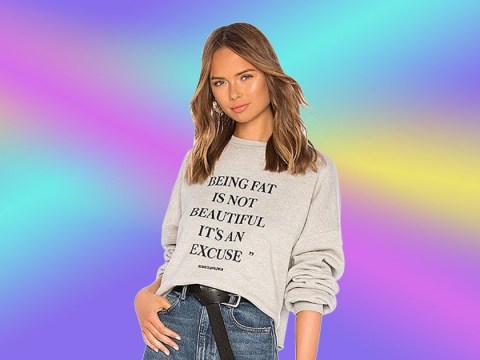 'Fat shaming' sweatshirt disaster: Whole collection has now been pulled