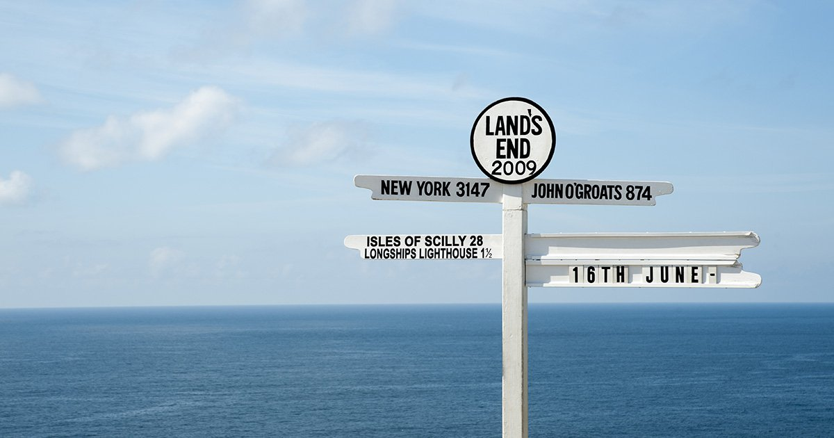 Land's End finally gets an apostrophe on all signposts after council decision