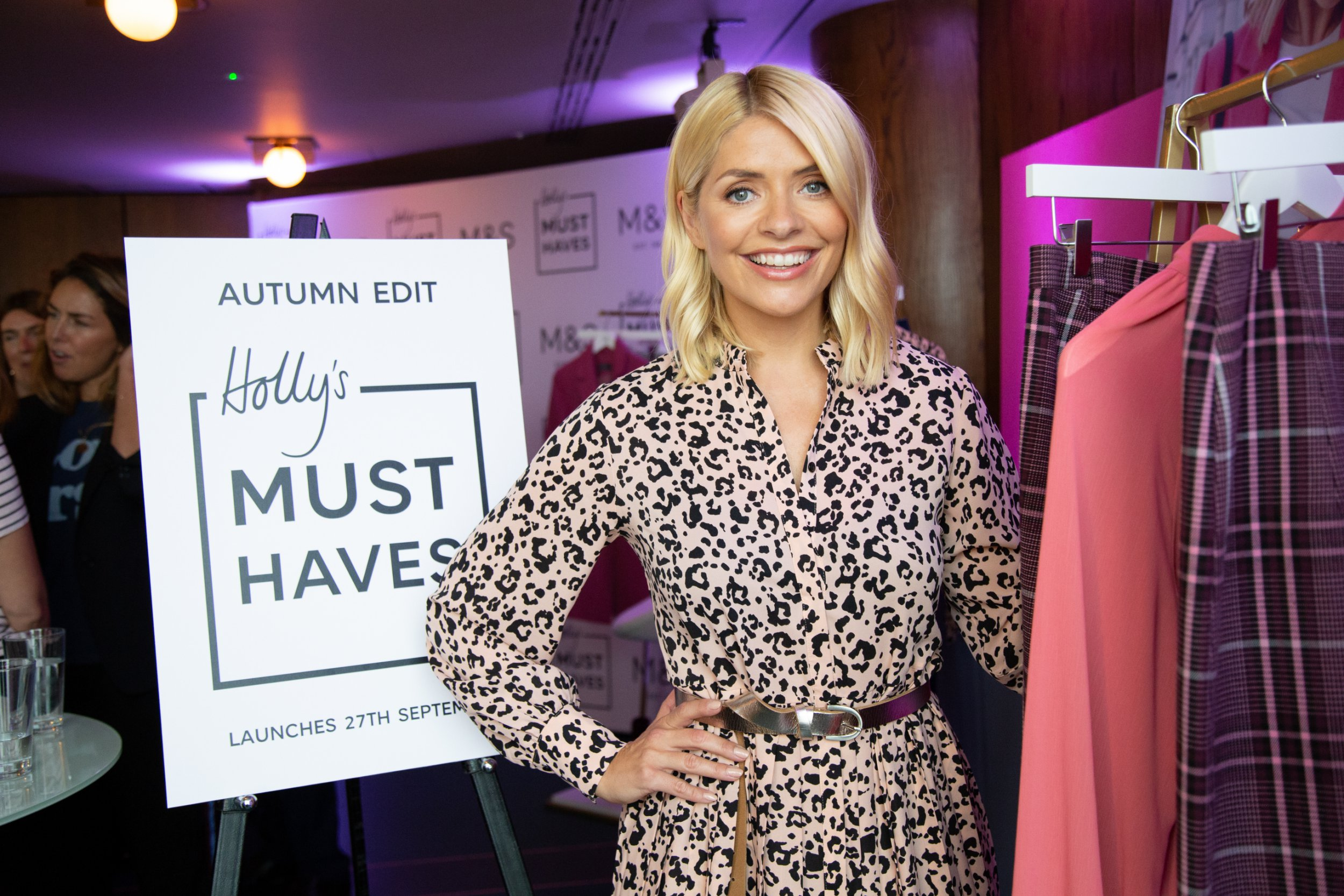 Marks & Spencer is Delighted to Introduce Holly Willoughby as Brand Ambassador and Holly???s Must Haves for Autumn Holly will join Marks & Spencer as a Brand Ambassador, showcasing her Must-Have pieces from the Autumn collections, launching on the 27th September 2018. Holly???s edit will celebrate both her love of style and Marks & Spencer design, as she curates her Must-Haves for the coming season. Holly???s pieces are an exciting addition to the overall Autumn Must-Have campaign that launched at the beginning of September; celebrating the stylish essentials every woman needs in her Autumn wardrobe.
