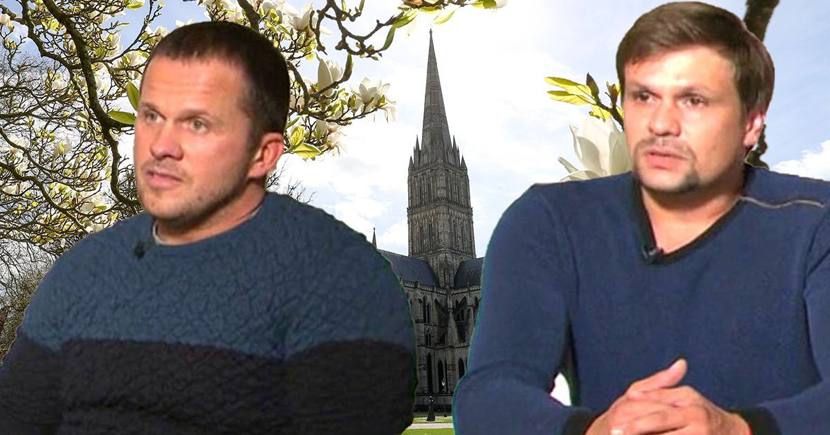 Novichok suspects want you to believe they just love Salisbury's architecture
