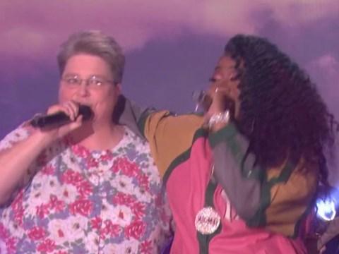 Missy Elliott surprises her 'funky white sister' on Ellen after fan's Work It karaoke performance goes viral