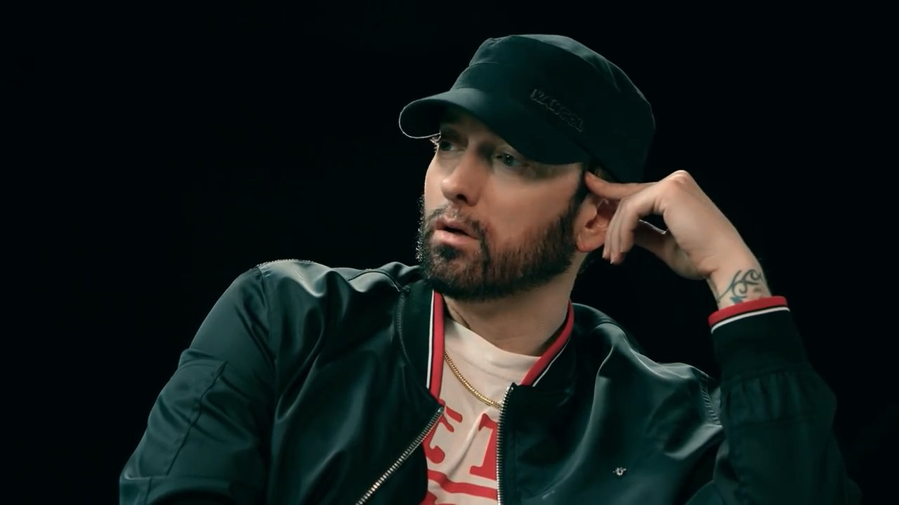 Eminem x Sway - The Kamikaze Interview (Picture: EminemMusic)