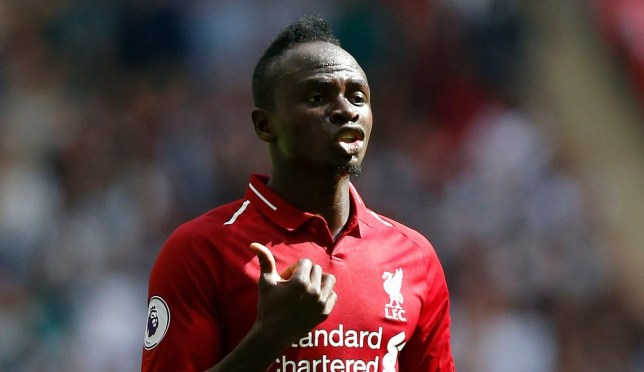 **IMAGE OUTSIDE OF SUBSCRIPTION DEAL, FEES APPLY** Mandatory Credit: Photo by Matthew Impey/REX (9883316aq) Sadio Mane of Liverpool Tottenham Hotspur v Liverpool, Football, Premier League, Wembley Stadium, London, UK - 15/09/2018