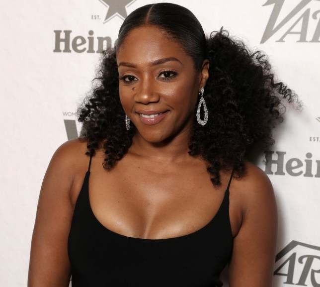 Mandatory Credit: Photo by Todd Williamson/Variety/REX/Shutterstock (9883536cb) Tiffany Haddish arrives at the Variety and Women in Film 2018 Television Nominees Celebration at Cecconi's on September 15, 2018 in West Hollywood. Variety and Women in Film Pre-Emmy Party, Arrivals, Los Angeles, USA - 15 Sep 2018