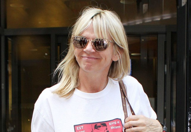 Mandatory Credit: Photo by Steve Bell/REX/Shutterstock (8861644c) Zoe Ball Zoe Ball out and about, London, UK - 03 Jun 2017 Zoe Ball on her first day back at work following the death of her partner Billy Yates