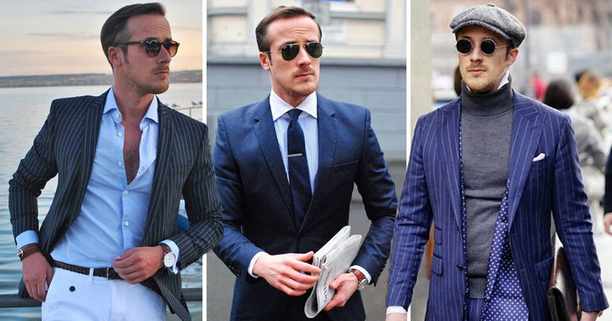 Fashion blogger makes name for himself as ryan gosling lookalike Credit: Johannes Laschet/Instagram