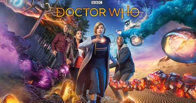 WARNING: Embargoed for publication until 00:00:01 on 18/09/2018 - Programme Name: Doctor Who Series 11 - TX: n/a - Episode: n/a (No. 1) - Picture Shows: **Strictly Embargoed until 18/09/2018 00:00:01** Graham (BRADLEY WALSH), Yaz (MANDIP GILL), The Doctor (JODIE WHITTAKER), Ryan (TOSIN COLE) - (C) BBC / BBC Studios - Photographer: Henrik Knudsen