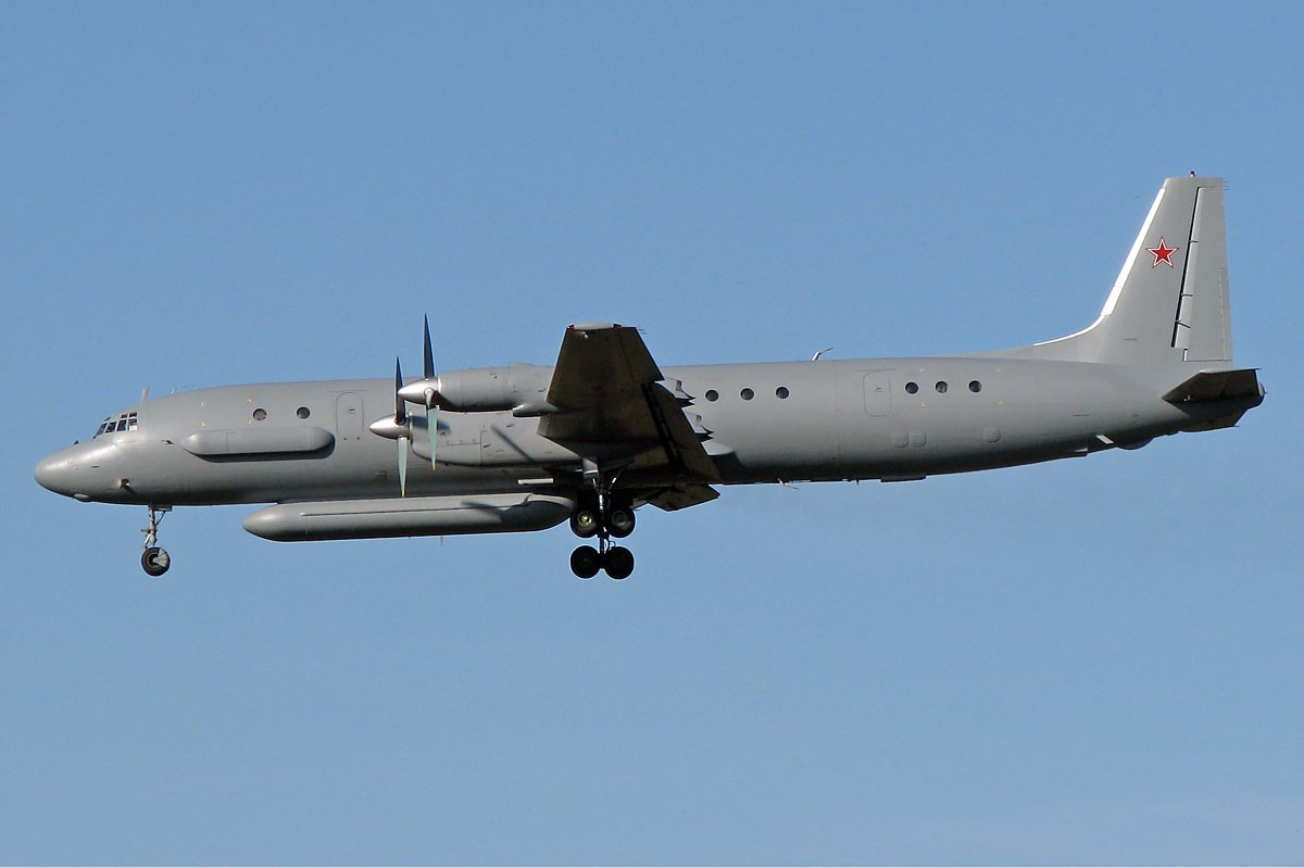 Russian military jet disappears over Syria. Picture: FILE PHOTO: An Ilyushin Il-20 Credit: Kirill