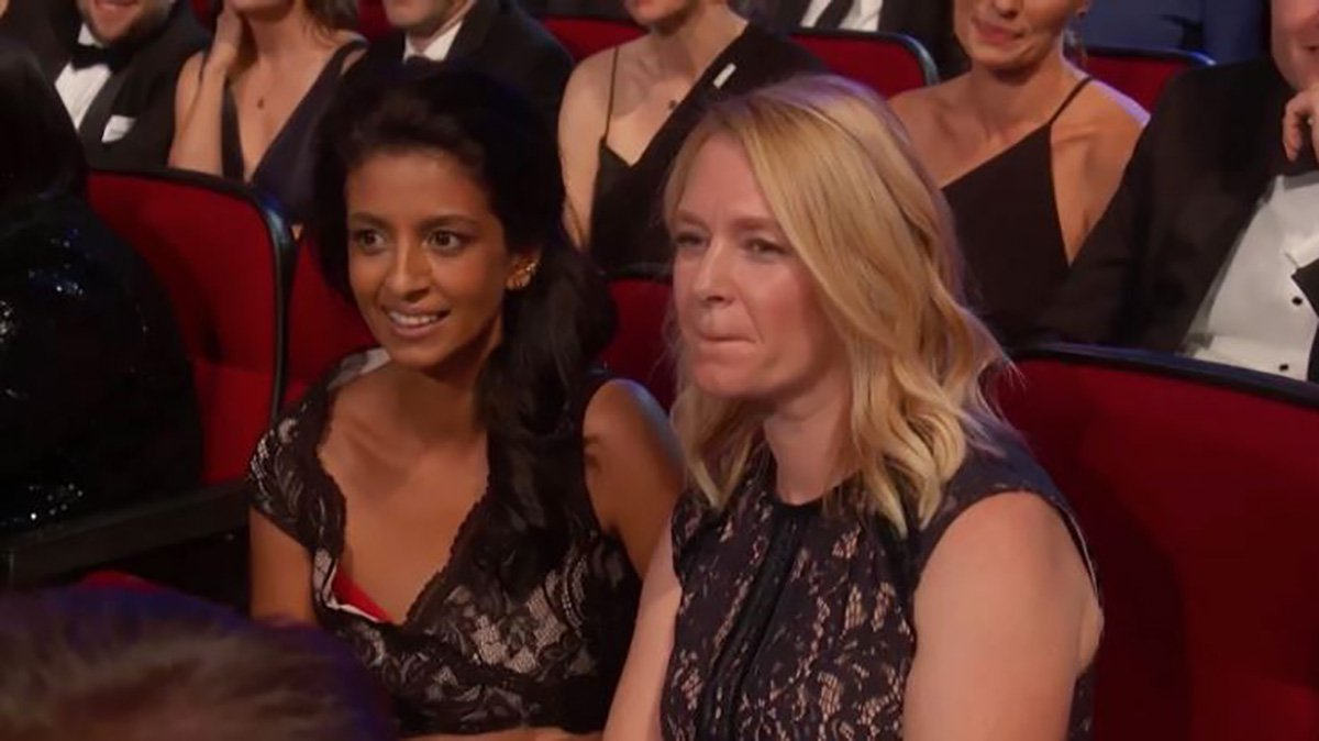 Blue Peter fans delighted as Konnie Huq hits the Emmys red carpet with husband Charlie Brooker