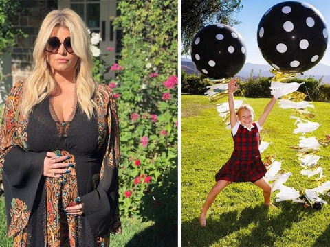 Jessica Simpson is pregnant with a baby girl as she shares adorable gender reveal