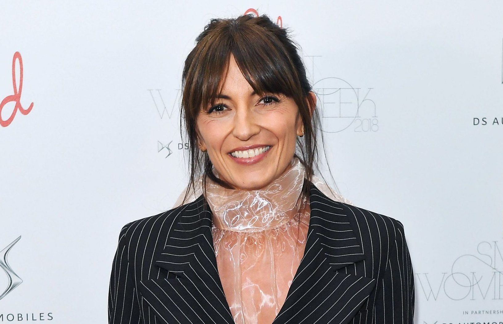 Mandatory Credit: Photo by James Gourley/REX (9886071t) Davina McCall Red Magazine 20th birthday party, London, UK - 18 Sep 2018