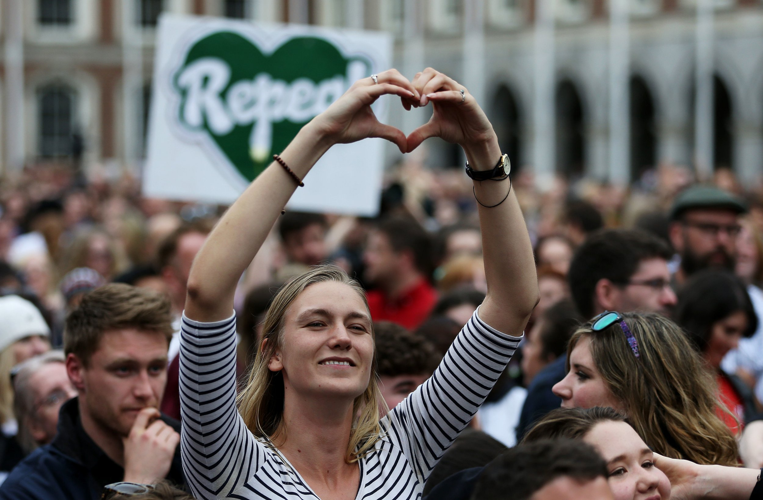 Irish President signs law repealing abortion ban