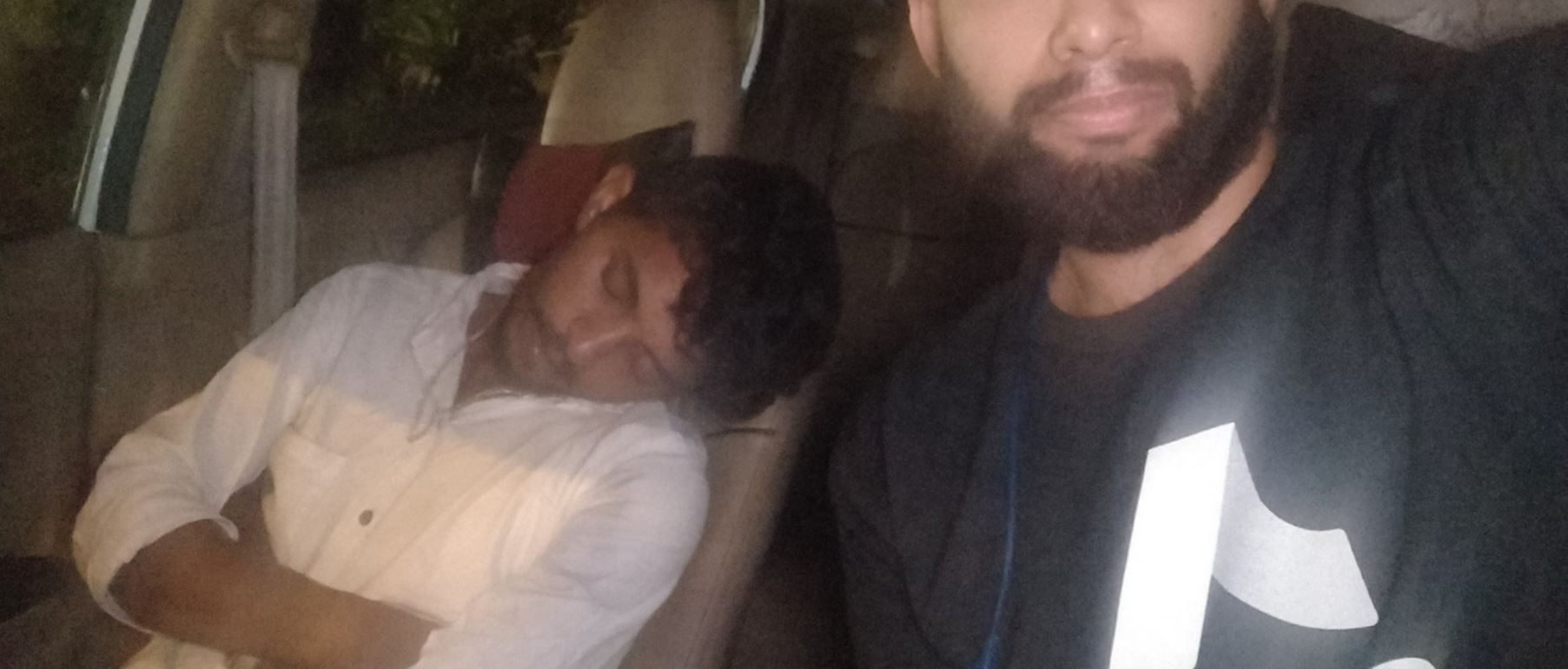 Surya Oruganti forced to take Uber driver home because he was 'too drunk and tired' to drive