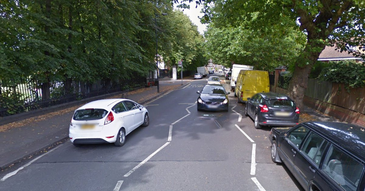 Police hunt little girl walking on road alone at midnight Picture: Asylum Road, Southwark Credit: Google
