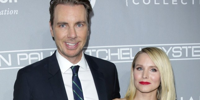 Mandatory Credit: Photo by Jim Smeal/REX/Shutterstock (7431596bf) Dax Shepard and Kristen Bell The Fifth Annual Baby2Baby Gala, Arrivals, Los Angeles, USA - 12 Nov 2016